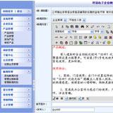 电子防盗企业网站后台管理页面