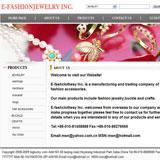 外贸饰品网站信息页