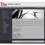 广告策划设计公司网站源码
