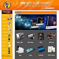 PSP游戏机网站代码