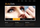 黑色风格美容化妆网站模板