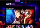 夜店酒吧网站模板
