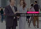 单页简约时尚网站HTML模板免费下载