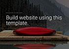 自然风光HTML网站模板