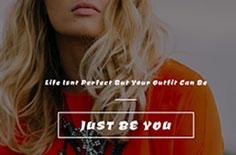 时尚品牌公司网站模板下载