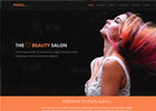时尚造型设计网站模板下载