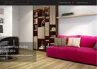 HTML5自适应室内装饰设计网站模板免费下载
