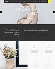 女性时尚潮牌网站模板