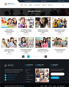 教育网站模板