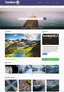 图片素材交易网站平台模板