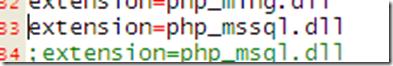 配置连接SQLServer2005的php环境一