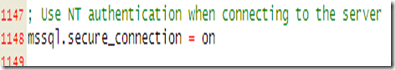 配置连接SQLServer2005的php环境二