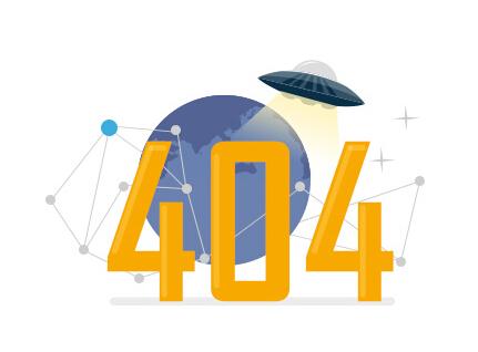 网站设置404页面效果